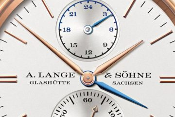 New Dials A. Lange & Söhne Saxonia Double Time Rose Gold Automatic Replica Watch