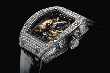 Promotion: The Diamonds Richard Mille RM 51-01 Tourbillon Tiger and Dragon-Michelle Yeoh Replica Watch