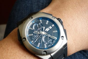 IWC Ingenieur Double Chronograph Titanium watch replica