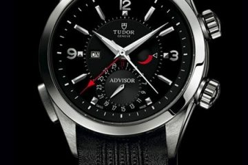 Black Dial Tudor Héritage Advisor Replica Watch
