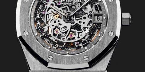 Skeleton Dial Audemars Piguet Royal Oak watch