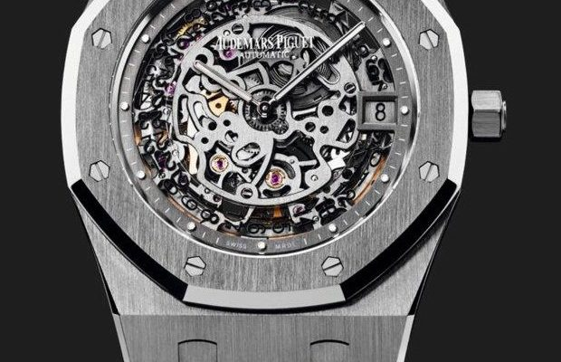 Skeleton Dial Audemars Piguet Royal Oak watch