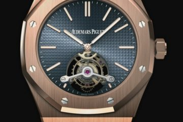 Audemars Piguet Royal Oak Tourbillon Blue Dial Watch Replica Ref. 26510