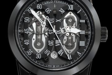 Carlo Ferrara Regolatore Concept Watch Replica
