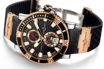 Best Quality Ulysse Nardin Maxi Marine Diver Titanium Watch