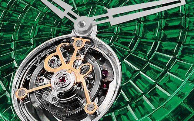 Jacob & Co. Caviar Emerald Tourbillon Graff replica watch