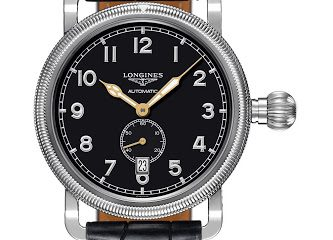 Longines Avigation Oversize Crown Chronograph watch replica