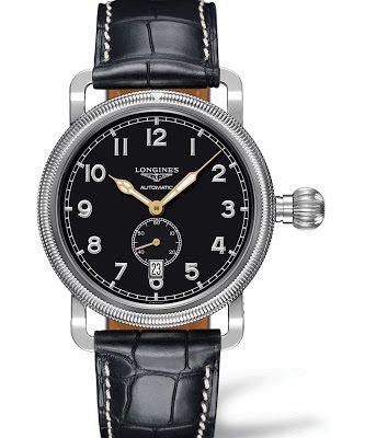 Longines Avigation Oversize Crown Chronograph watch replica