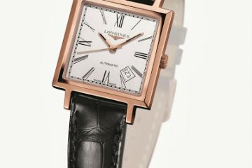 Longines Heritage 1968 square replica watch