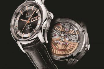 Omega Replica De Ville Hour Vision Annual Calendar replica watch