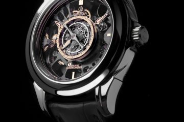 Omega Skeleton Central Tourbillon Co-Axial replica watch