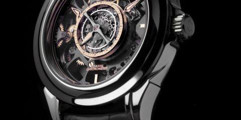 Omega Skeleton Central Tourbillon Co-Axial replica watch