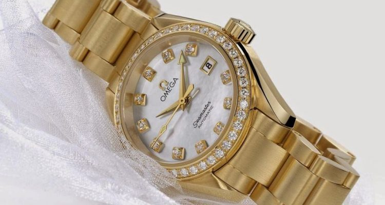 Ladies' Omega Seamaster Aqua Terra Automatic watch replica