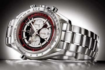 Omega Speedmaster Rattrapante Co-Axial watch replica