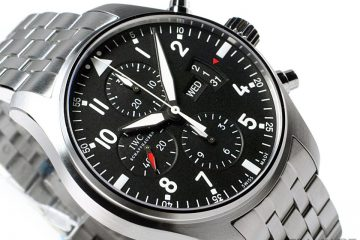 IWC Pilot's Watch Chronograph replica watch