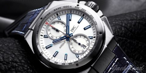 IWC Ingenieur Chronograph Silberpfeil replica watch