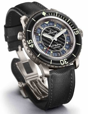 Blancpain 500 Fathoms Carbon Fiber watch replica