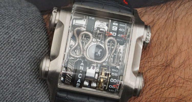 Skeleton Dial SnakeNera Replica Watch