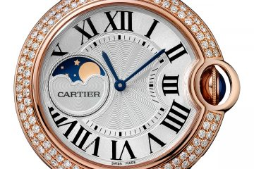 Cartier Ballon Bleu De Cartier Moon Phase Watch Replica
