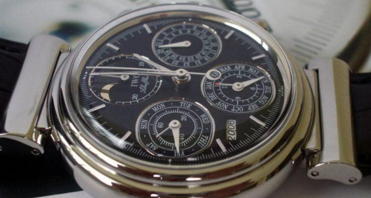 IWC Da Vinci Perpetual Calendar Chronograph watch replica