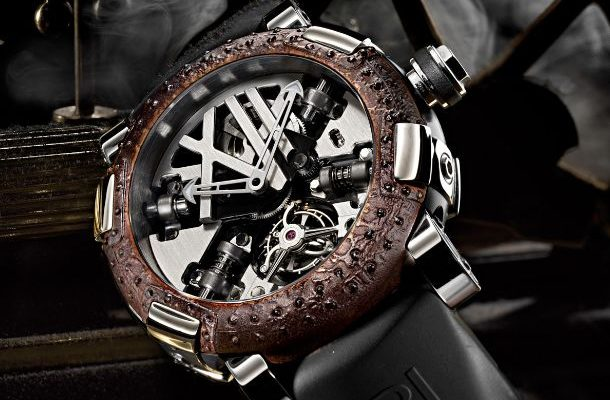 Skeleton Romain Jerome replica watch