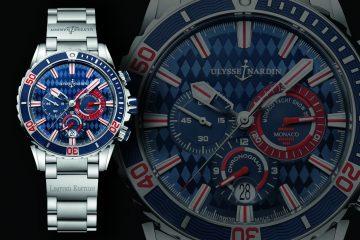 Ulysse Nardin Diver Chronograph Monaco replica watch