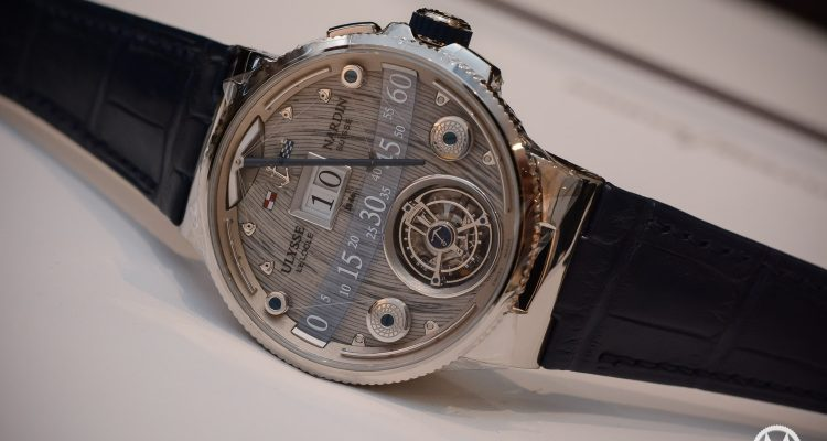 Ulysse Nardin Grand Deck Marine Tourbillon watch replica
