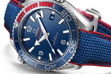 "Omega Seamaster Planet Ocean ""PyeongChang 2018"" watch replica"