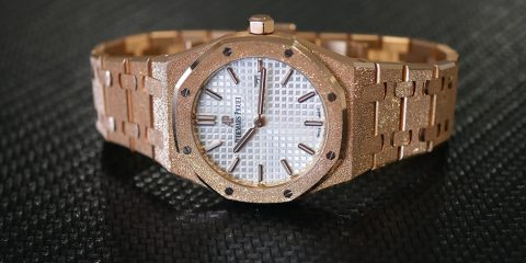 Audemars Piguet Royal Oak Frosted Gold Replica watch
