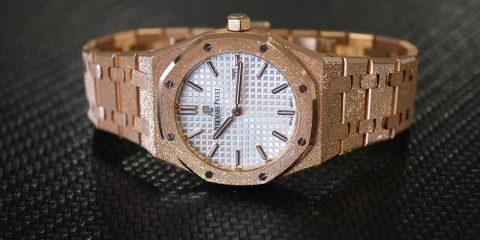 Audemars Piguet Royal Oak Frosted Gold Replica watch