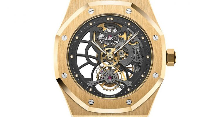 Audemars Piguet Royal Oak Tourbillon Extra-Thin Openworked replica