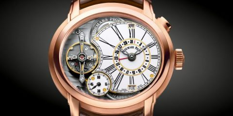 rose gold Audemars Piguet Millenary Quadriennium replica