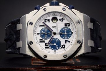 AP Royal Oak Offshore Navy Blue replica watches