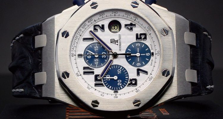 AP Royal Oak Offshore Navy Blue replica watches