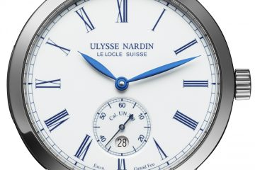 Ulysse Nardin Classico Manufacture 170th Anniversary Limited Edition Watch Watch Releases