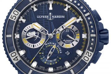 Ulysse Nardin Diver Chronograph Artemis Racing Watch Watch Releases