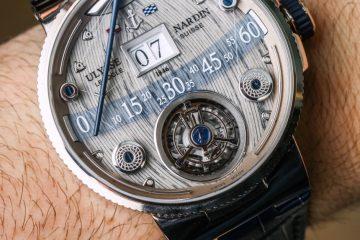 Ulysse Nardin Grand Deck Marine Tourbillon Watch Hands-On Hands-On