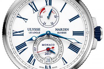 Ulysse Nardin Marine Chronometer Annual Calendar Monaco Watch Watch Releases