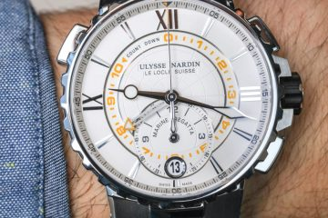 Ulysse Nardin Marine Regatta Watch Hands-On Hands-On
