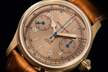 Montblanc 1858 Chronograph Tachymeter Limited Edition 100 Watch Watch Releases