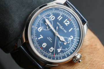 Montblanc 1858 Chronograph Tachymeter Limited Edition Watch Hands-On Hands-On
