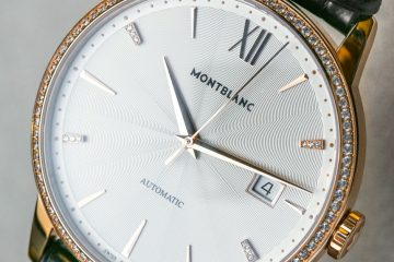 Montblanc Meisterstuck Heritage Spirit Date Automatic Watch With Diamonds Hands-On Hands-On