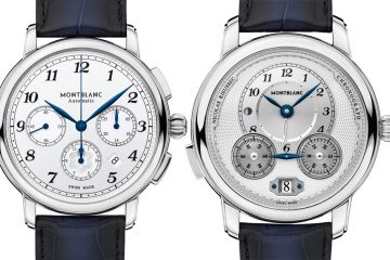 Montblanc Star Legacy Nicolas Rieussec & Star Legacy Automatic Chronograph Watches Watch Releases
