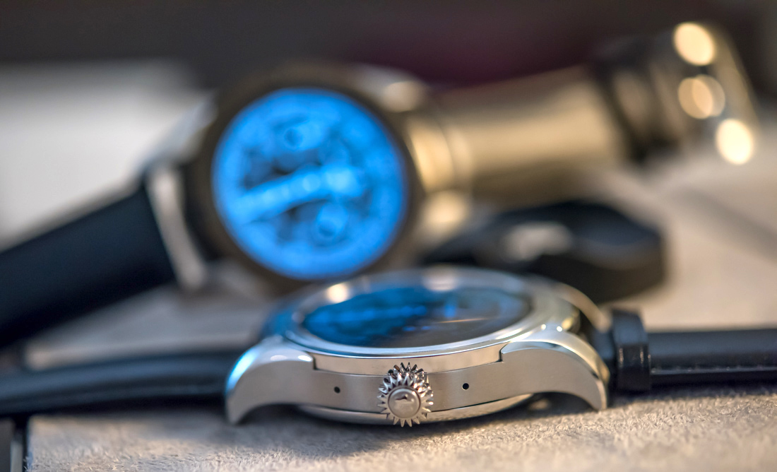Montblanc Summit Smartwatch Hands-On Hands-On