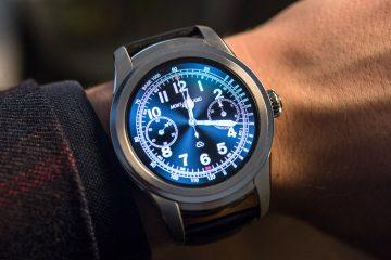 Montblanc Summit Smartwatch Hands-On Hands-On