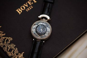 Bovet Virtuoso VII Retrograde Perpetual Calendar Watch Black 2015