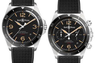 Deux nouvelles montres BR Heritage