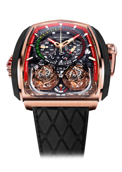 Four Ts for five tourbillons