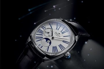 an Anthem to Feminity Zenith Star Open Moonphase Copy Timepiece