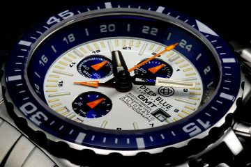The Cool Luminor Deep Blue Daynight T-100 GMT Automatic Chronograph Replica Watch